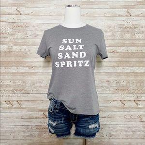 NWT Sub Urban Riot Sun Salt Sand Spritz T-Shirt XS